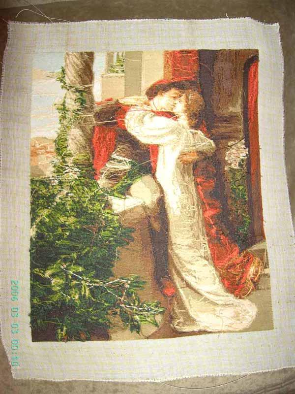 Схемы вышивки картины ромео и джульетта